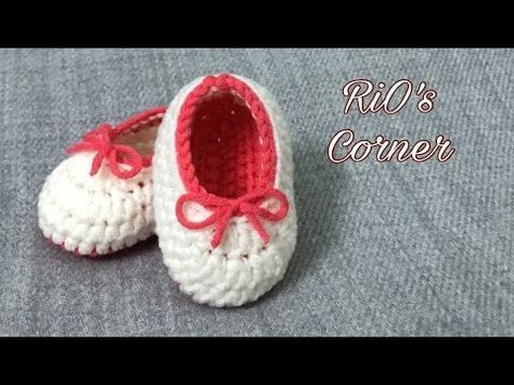 How To Crochet Piggy Baby Booties Croby Patterns Youtube Baby