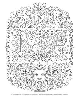 Amazon Power Of Love Coloring Book Is Fun 9781497203204