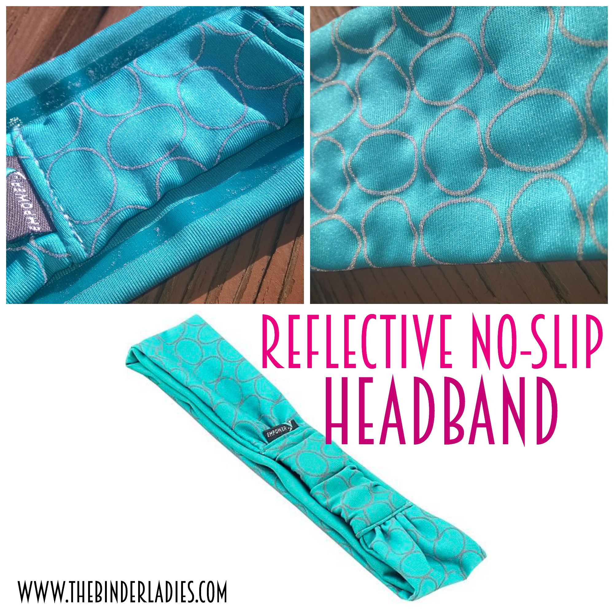Reflective No-Slip Headband from Empower Fitness - workout products ...