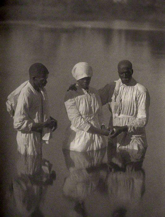 baptism of the Gullah of the Sea Islands, by Doris Ullmann