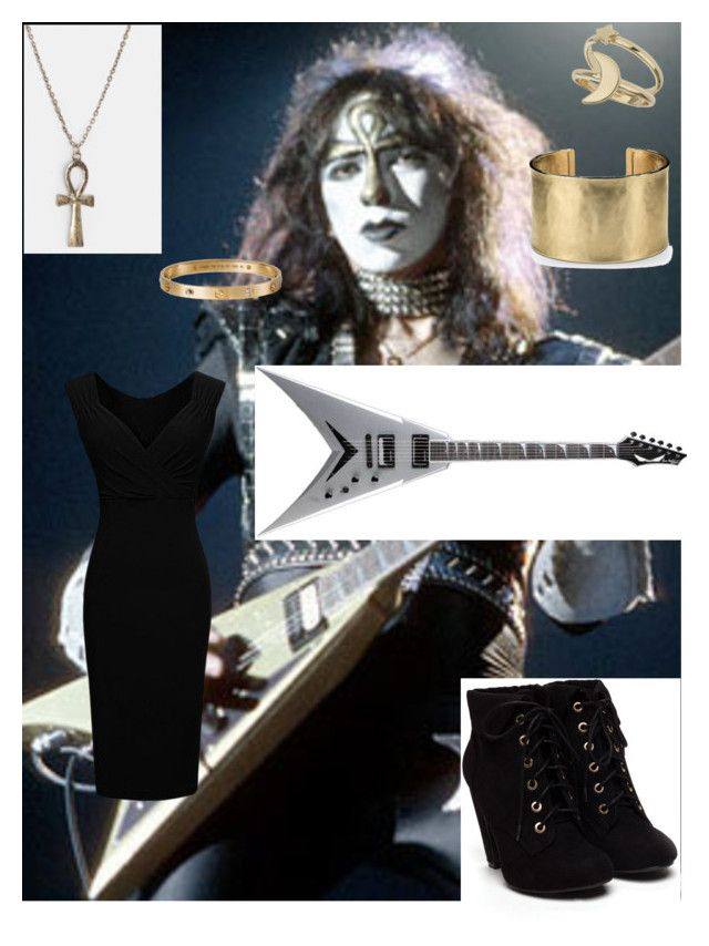 """""""THE ANKH WARRIOR"""" by littlemisshowdy ❤ liked on Polyvore featuring Miss Selfridge, Blue Nile and Cartier"""