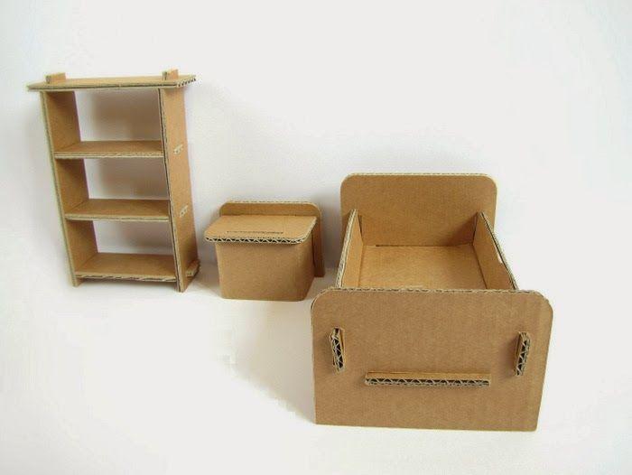 Domek Dla Lalek Z Kartonu Szukaj W Google Diy Doll House Miniture Things