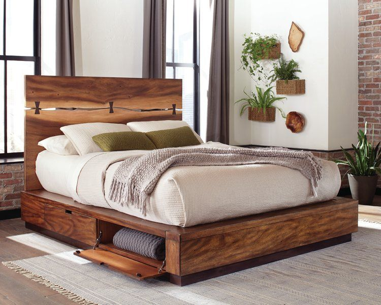 info for 0e98e a38fa Foundry Select Boler Storage Platform Bed | Decorating in ...