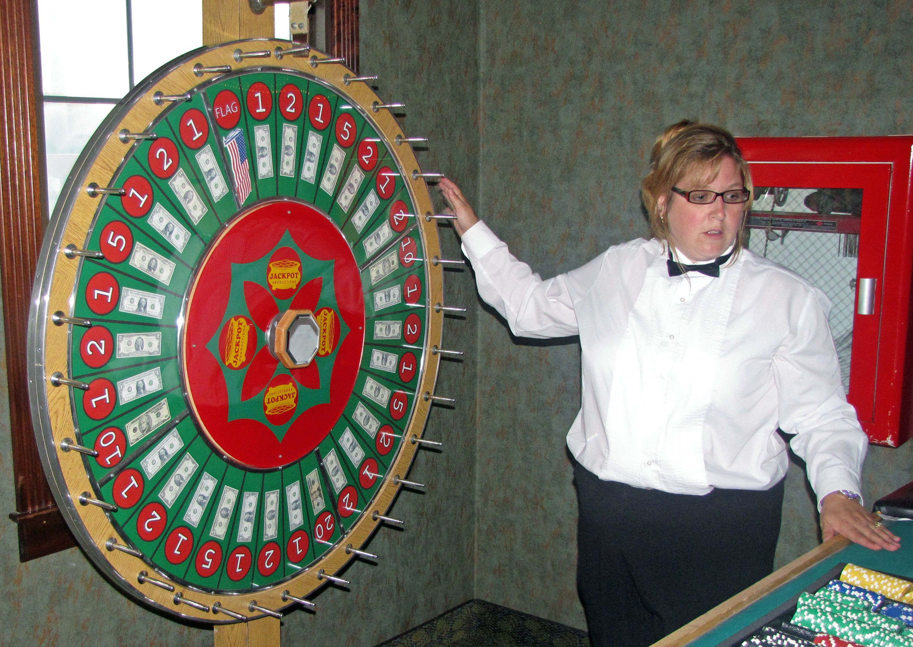 Wheel Game At Casino