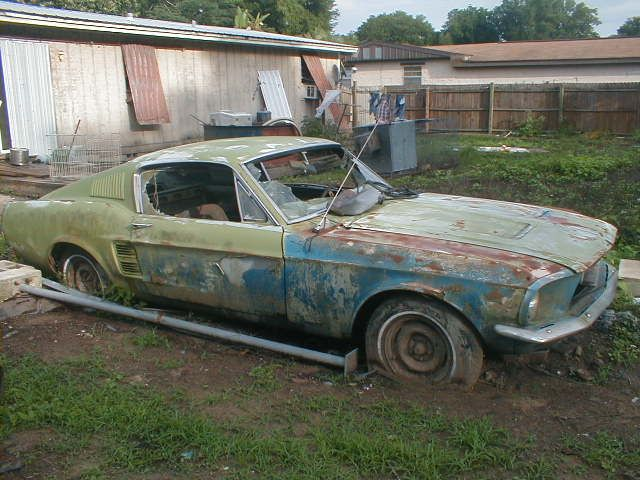 Rusted Out 1966 Mustang