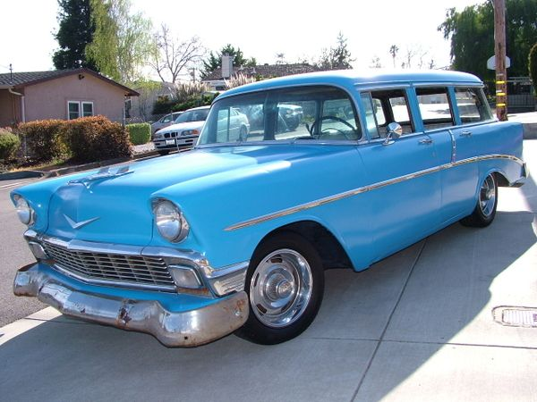 Station Wagon Of The Day 56 Chevy 210 Wagon Station Wagon