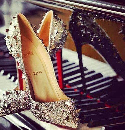 THESE!!!! I loveeeeee spiked Louboutins!!!!
