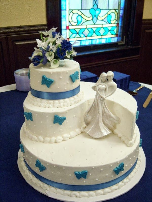 wedding cake different and cute