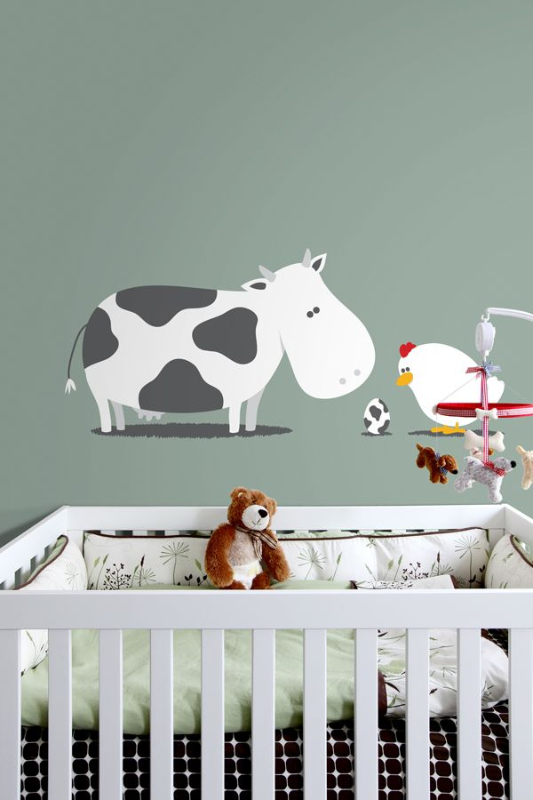 wall decal cute farm theme projects for my babies pinterest