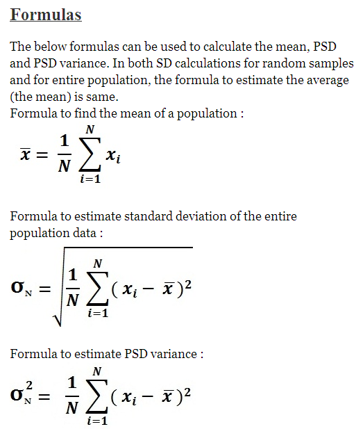 pin by math examples on standard deviation example