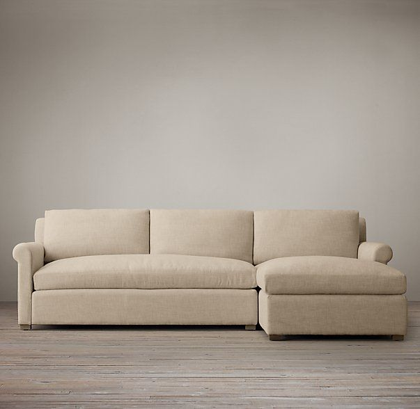Belgian Petite Roll Arm Upholstered Right Arm Chaise Sectional Chaise Sofa Classic Sofa Sofa