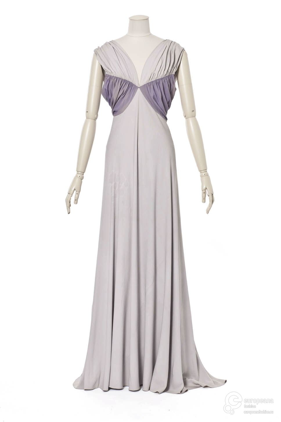 robe du soir Creation date 1938 Creator Madeleine Vionnet Object ...