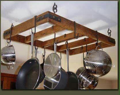 Organizador De Utensilios De Cocina De Almacenamiento Con Ganchos