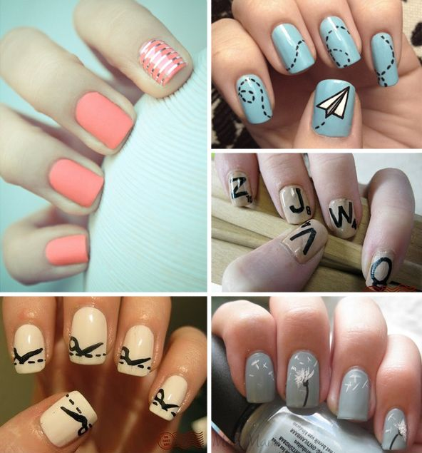 fun ideas <3 - Personal favorite is the paper plane. xo | Hair and ...