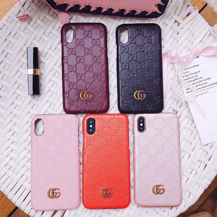ブランド iphone Xケース グッチ iphone8 皮ケース シンプル アイフォン X/テンケース GUCCI ジャケット