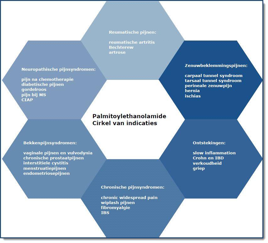 Indicatie palmitylethanolamide