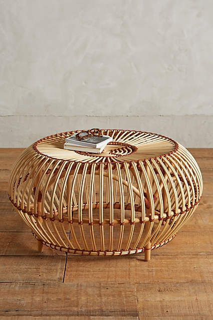 Susila Rattan Coffee Table Anthropologie Anthrofave