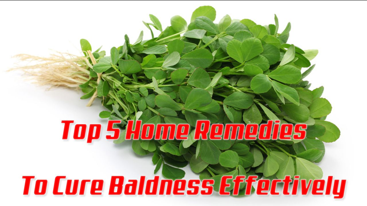 Baldness Cure   Top  Home Remedies To Cure Baldness