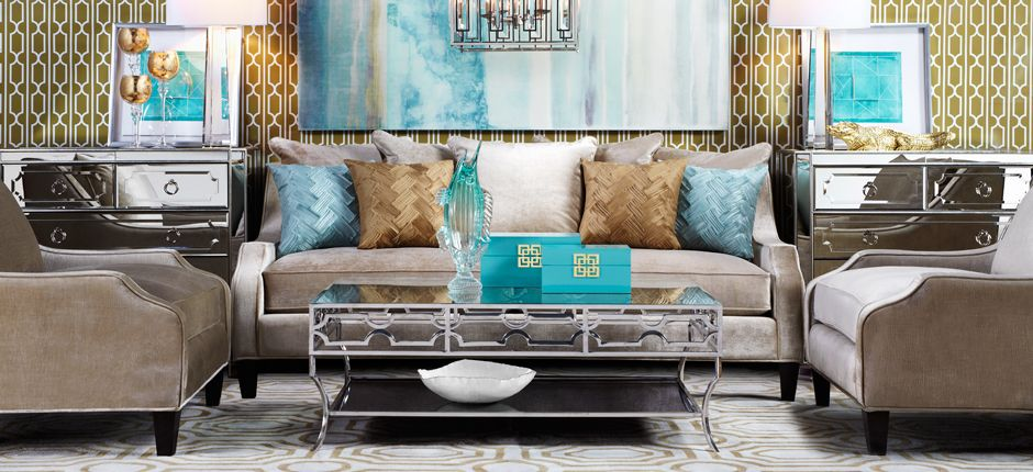 Inspired By This Look On @ZGallerie From Z Gallerie · Luxury Living  RoomsLiving ...