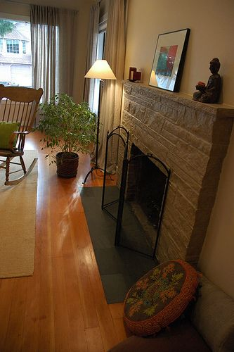 Make A Fireplace More Energy Efficient Slate Hearth Propane