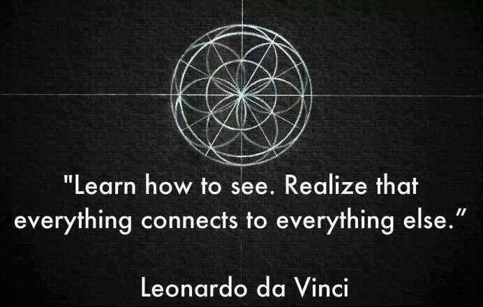 learn how to see quote leonardo da vinci quotes and wise words pinterest. Black Bedroom Furniture Sets. Home Design Ideas