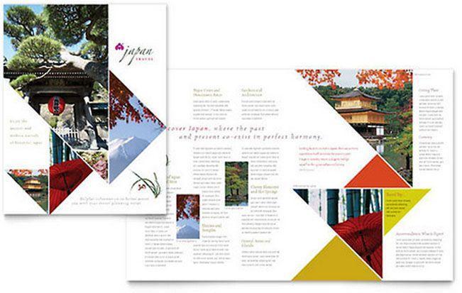 6 Beautiful Travel And Tourism Brochure Templates Tourism