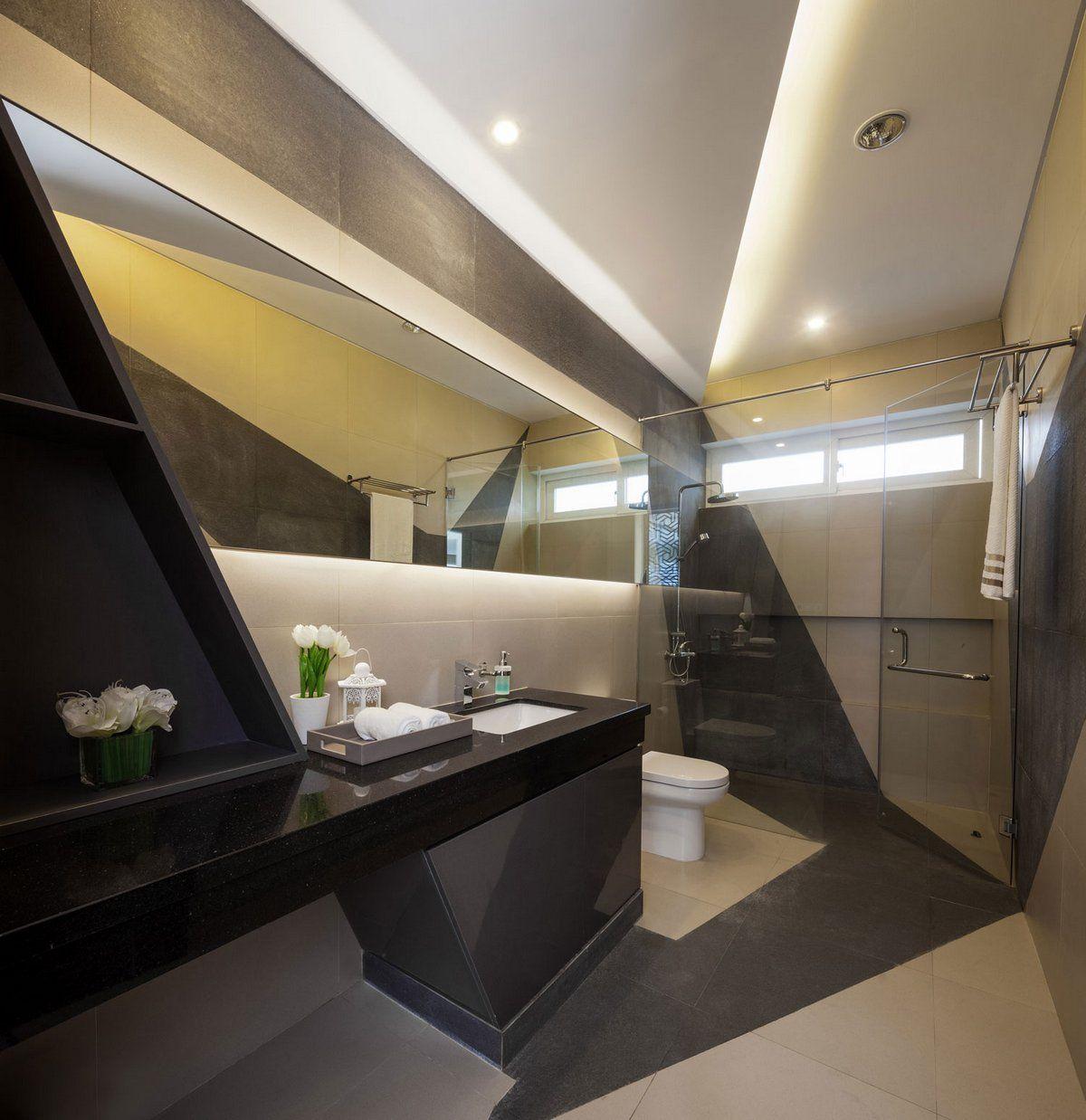 Интерьер жилого дома Галерея 3dddru: Резиденция интроверта в Джакарте