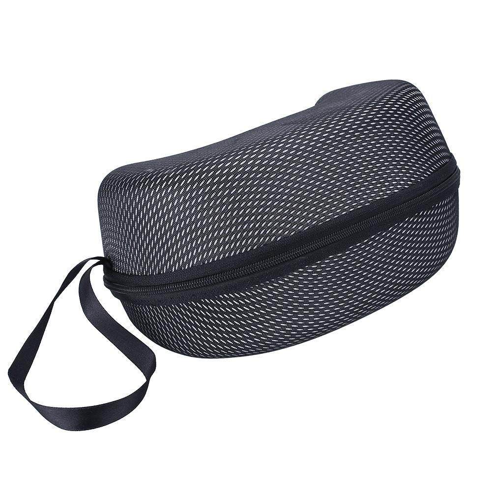 Mesh Zipper Hard Bag Case Box Winter Ski Motocycle Goggle Glasses Protector Glasses Case