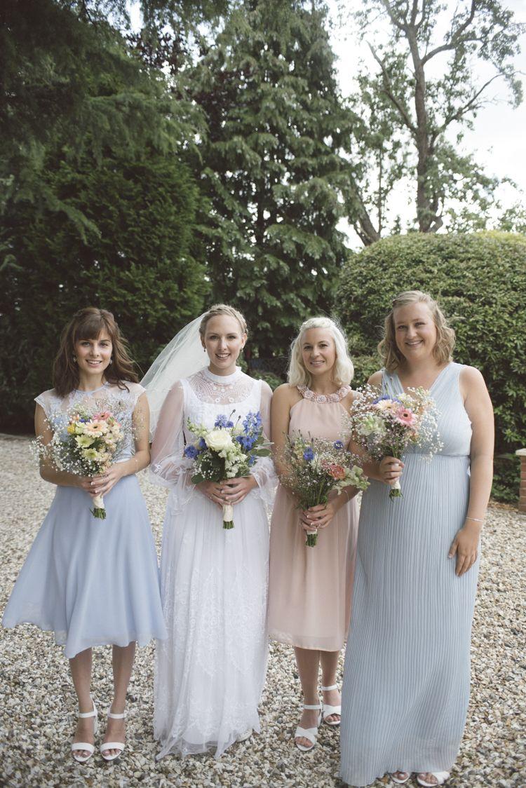 Pastel blue pink asos bridesmaid dresses quirky diy house party pastel blue pink asos bridesmaid dresses quirky diy house party wedding httpwww ombrellifo Images
