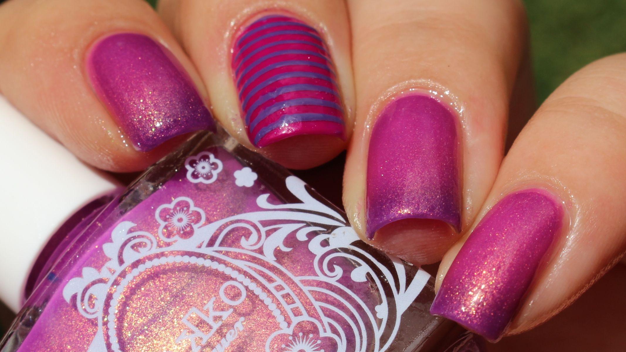 31DC2015 Day 6 Purple: Takko Lacquer Cheshire Cat Lacquer Nail polish Purple