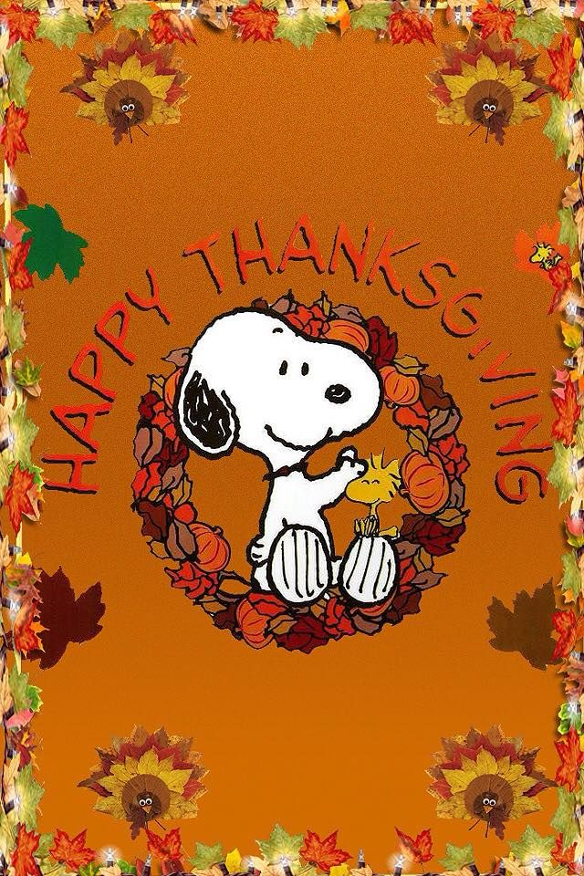 Pin By Toni Schiavone On Holidays To Give Thanks Thanksgiving Iphone Wallpaper Snoopy Wallpaper Thanksgiving Wallpaper Awesome snoopy thanksgiving wallpaper