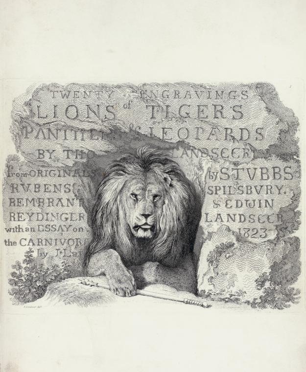 Engraver Landseer, Thomas, 1795-1880 Artist Landseer, Edwin Henry. Index