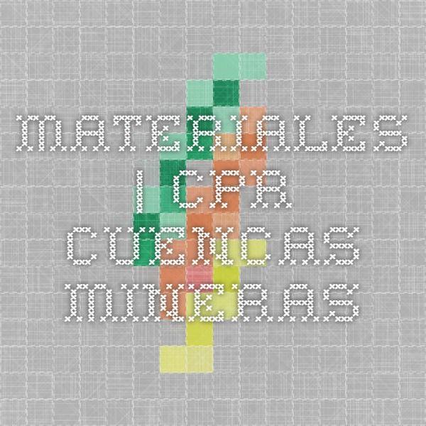 Materiales | CPR Cuencas Mineras
