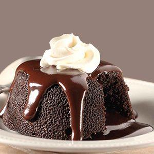 Chocolate Lava Cake Recipe | How to make Chocolate Lava Cake - Dessert & Salad