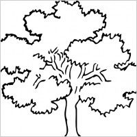 Clip Art Trees Black And White Tree Clip Art Free Vector For Free Download About 31 Tree Coloring Page Tree Outline Tree Sketches
