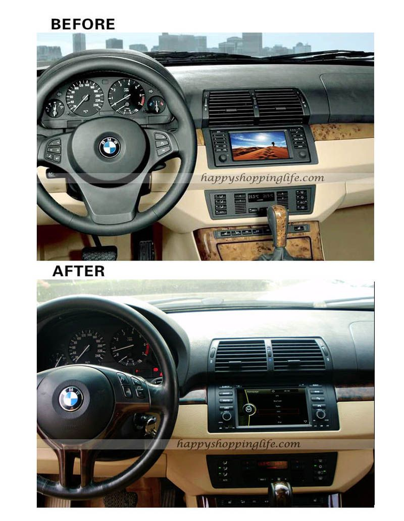 Autoradio For BMW M5 E39 E53 7 Inch Digital Car DVD Player
