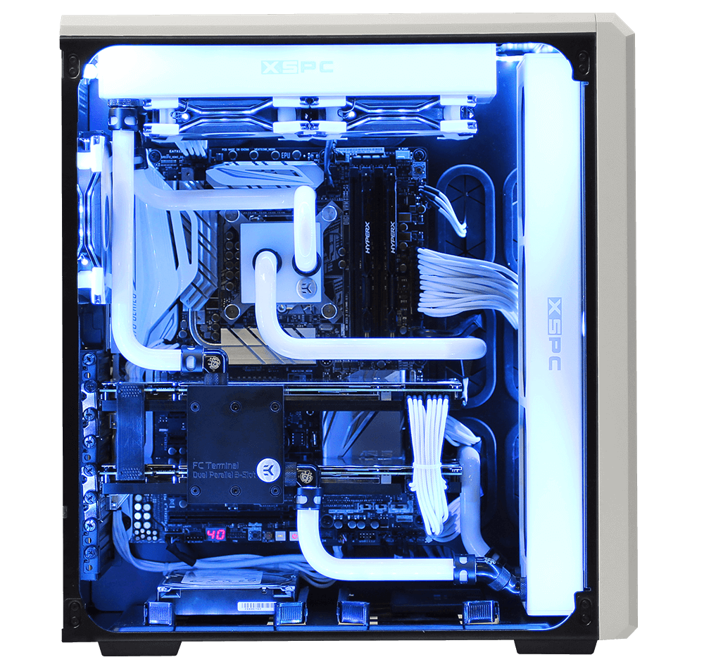 Custom Liquid Cooled Gaming Pc Custom Built Computers Custom Pc Custom Computer