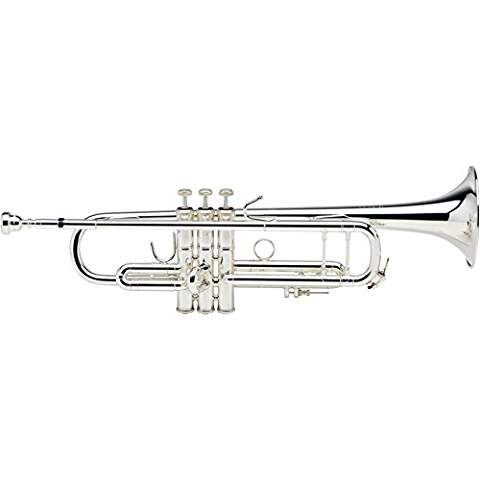 bach 180s37 stradivarius series bb trumpet silver plated trumpet accessories professional. Black Bedroom Furniture Sets. Home Design Ideas