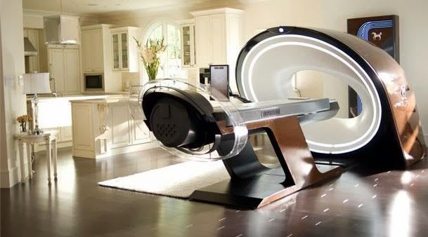 Medical Pod from Elysium | Dreams of the Future | Kitchen