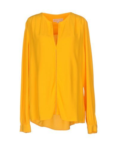 MICHAEL MICHAEL KORS Women's Blouse Yellow L INT
