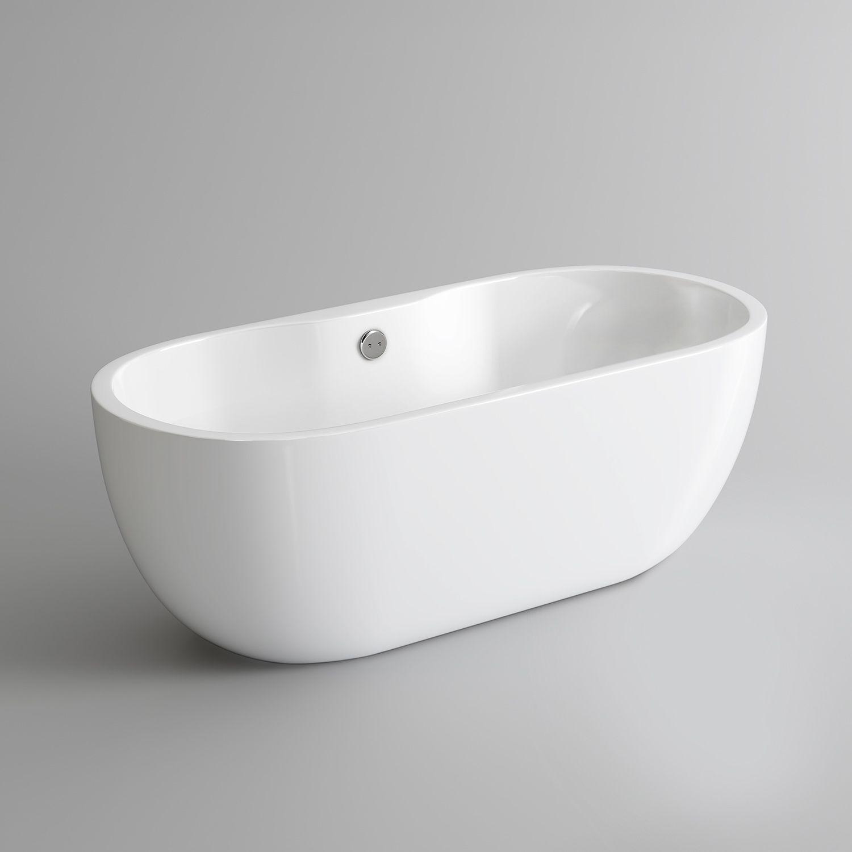 1550x760mm Taal Freestanding Bath - Small