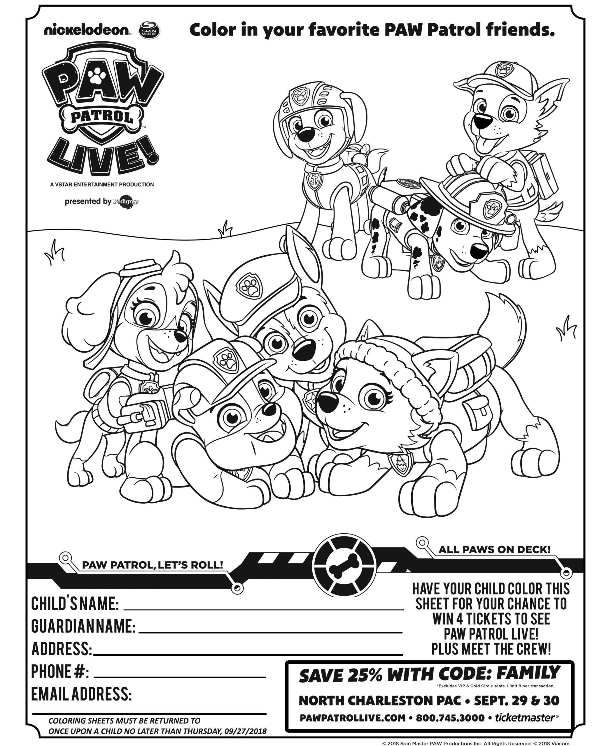 Everest Coloring Page Paw Patrol Youngandtae Com Birthday Coloring Pages Paw Patrol Coloring Pages Coloring Pages Inspirational