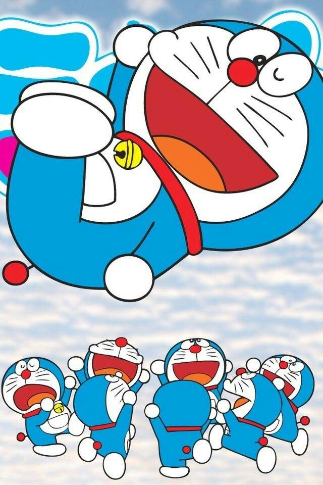 Doraemon Illustration In 2019 Lucu