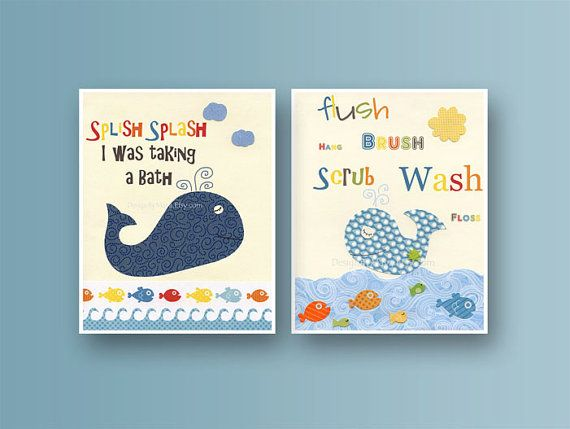 Kids Whale Bathroom Decor Amazing Ideas