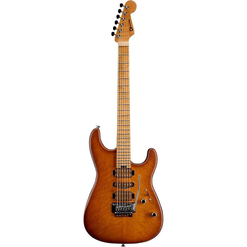 Charvel Limited Edition Guthrie Govan Signature San Dimas Caramelized 2-Piece Flame Maple Electric Guitar Britannica Red