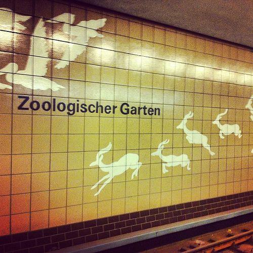 Fancy U Bahn Zoologischer Garten Berlin Germany
