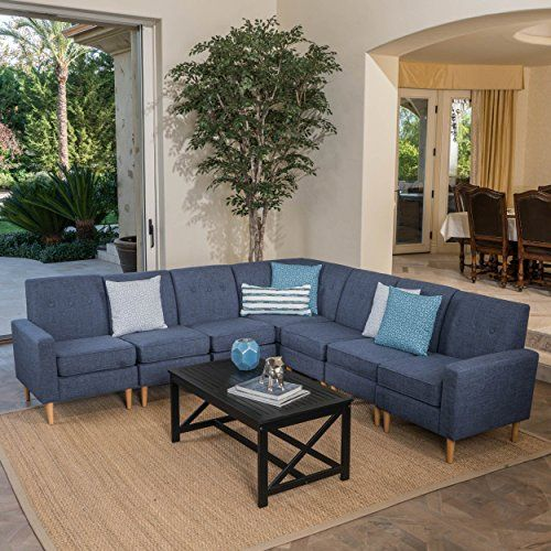 Best Christopher Knight Home 302722 Sawyer Fabric Sectional 640 x 480