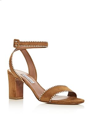 90d9905e10fb TABITHA SIMMONS WOMEN S LETICIA SUEDE ANKLE STRAP HIGH HEEL SANDALS.   tabithasimmons  shoes