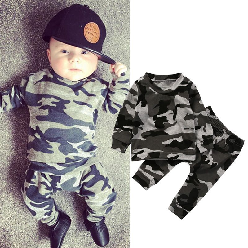 Cute 2PCS Newborn Kids Baby girl T-shirt Tops+Long Pants Outfits Set Tracksuit