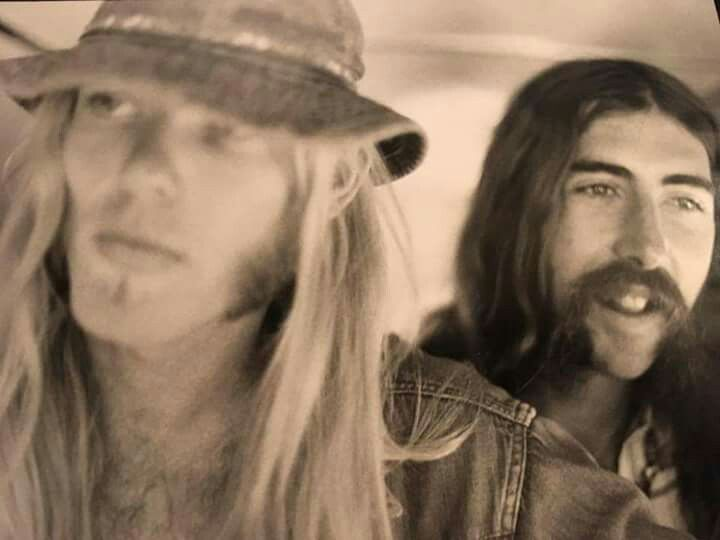 Gregg Allman Berry Oakley Allman Brothers Blues Rock Berry Oakley